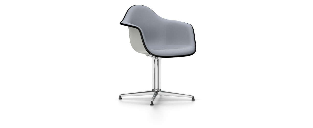 Vitra DAL mit Vollpolster - Eames Plastic Armchair