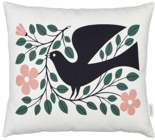 Graphic Print Pillows: Dove