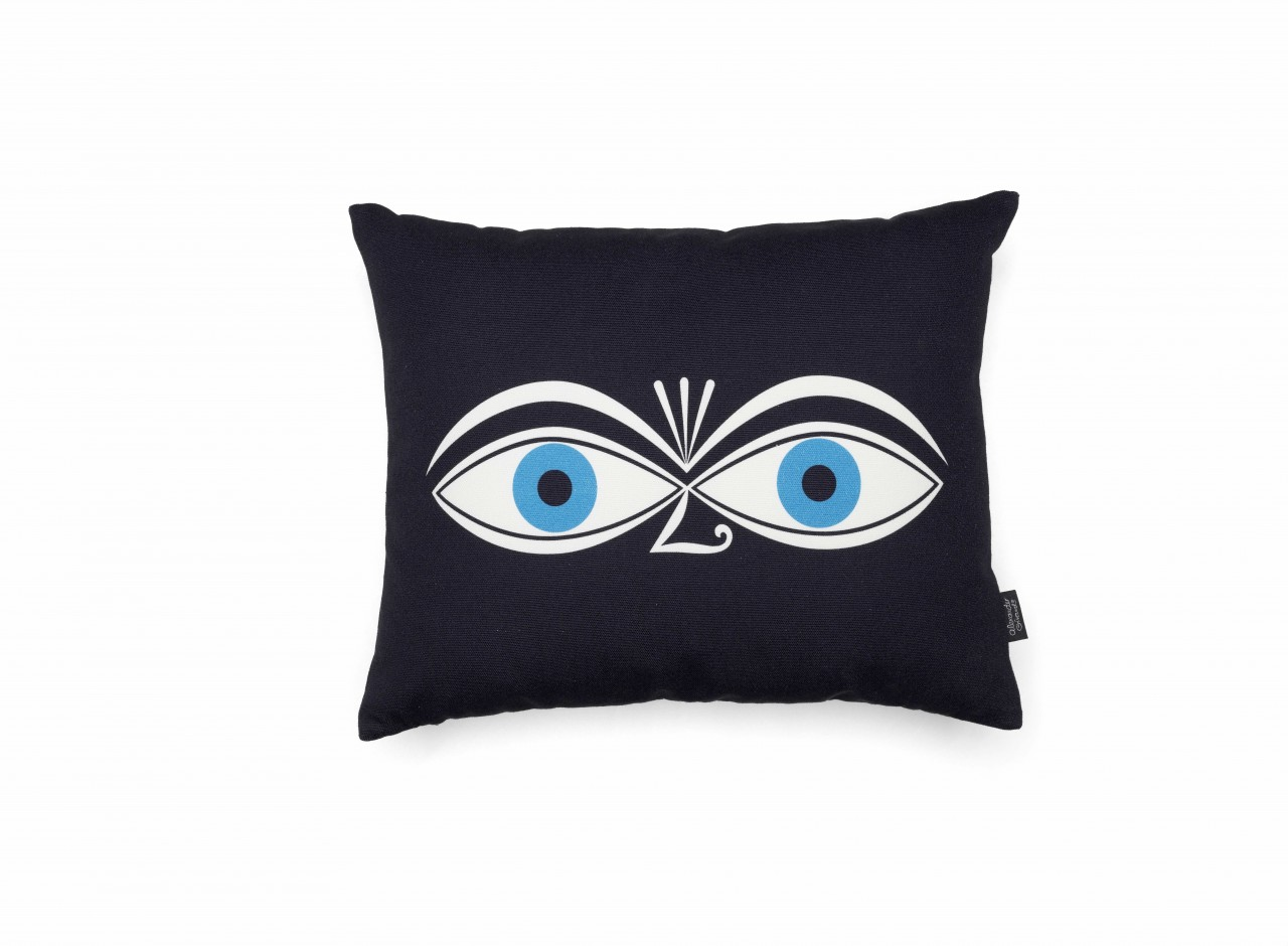 Graphic Print Pillows: Eyes