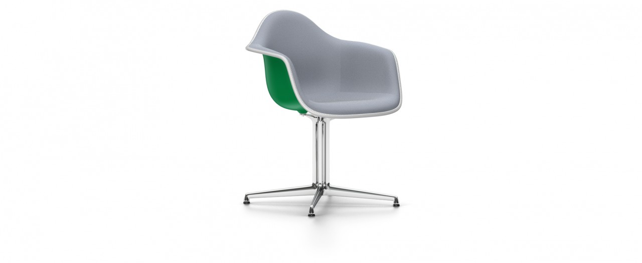DAL mit Vollpolster - Eames Plastic Armchair