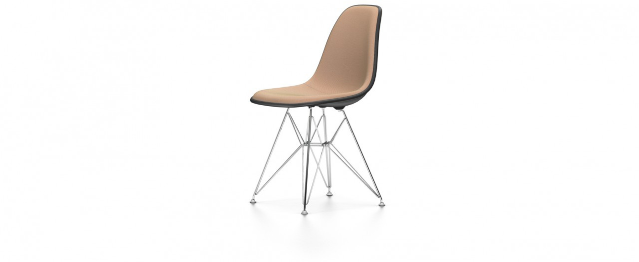 Vitra DSR mit Vollpolster - Eames Plastic Side Chair