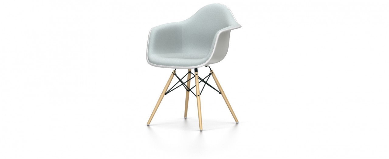 Vitra DAW mit Vollpolster - Eames Plastic Chair