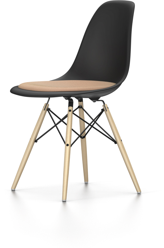 eames dsw mit sitzpolster original online kaufen vitrapoint d sseldorf. Black Bedroom Furniture Sets. Home Design Ideas
