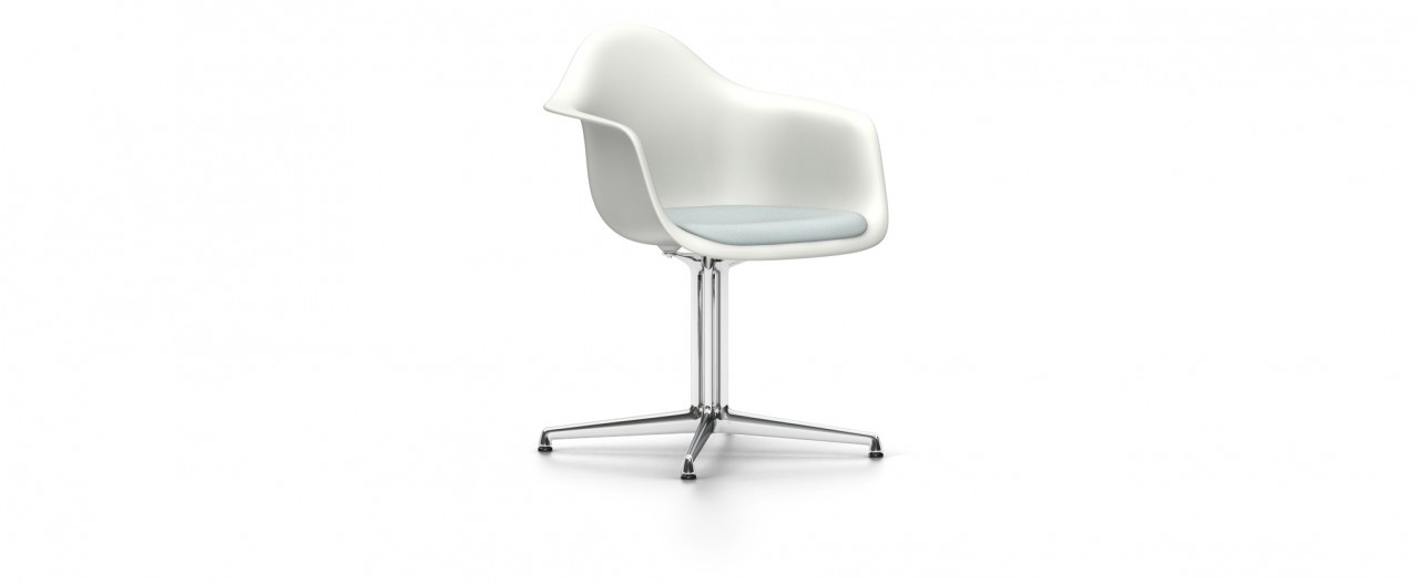 Vitra DAL mit Sitzpolster - Eames Plastic Armchair