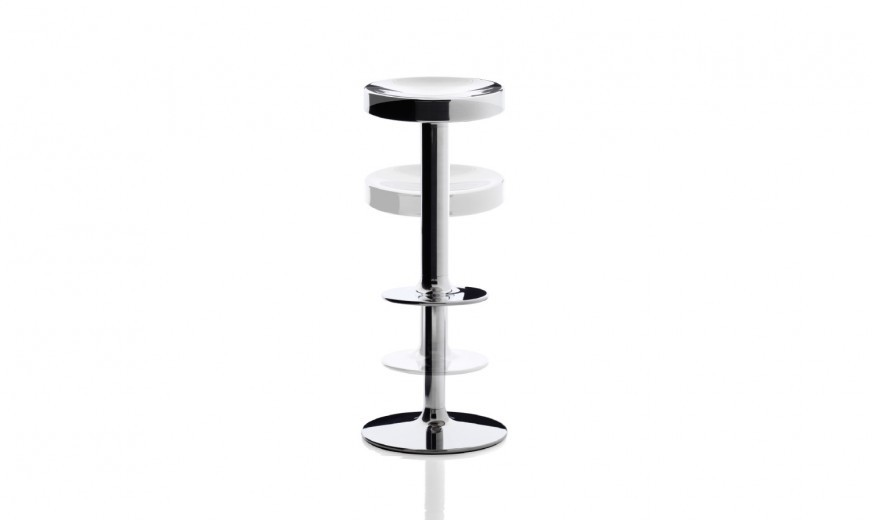 Outlet magis sweet stainless steel stool barhocker for Barhocker outlet