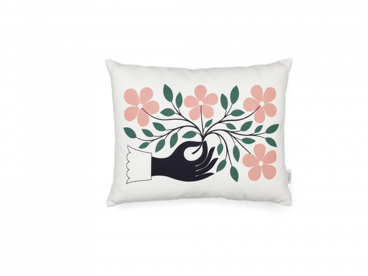 Graphic Print Pillows: Hand