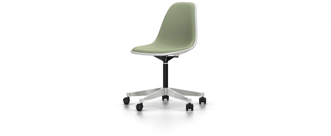 Vitra PSCC mit Vollpolster - Eames Plastic Side Chair