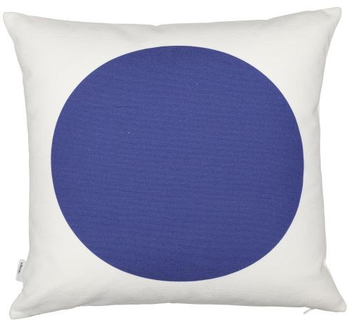 Graphic Print Pillows: Rectangles/Circle red/blue