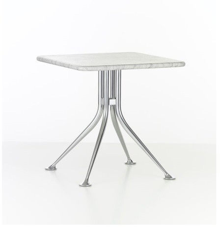 Splayed Leg Table: weiss