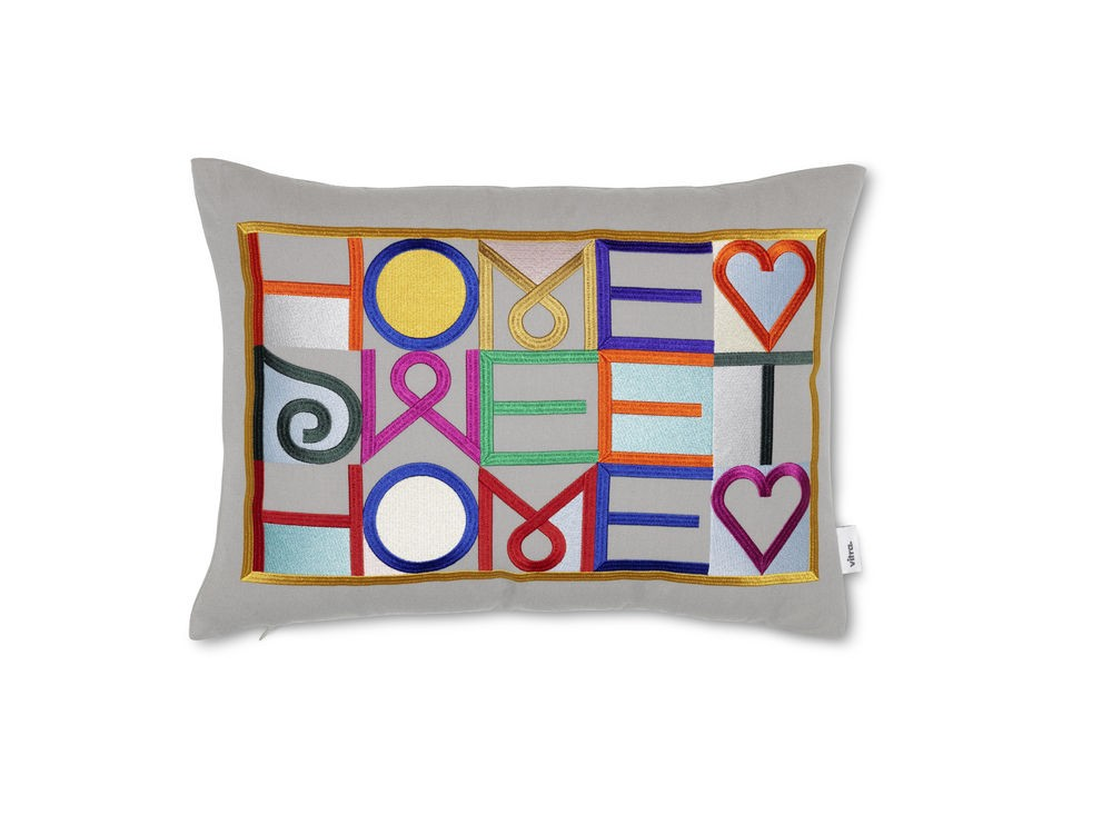 Embroidered Pillows: Home Sweet Home