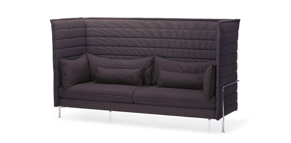 alcove highback three seater sofas sitzm bel vitrapoint d sseldorf. Black Bedroom Furniture Sets. Home Design Ideas