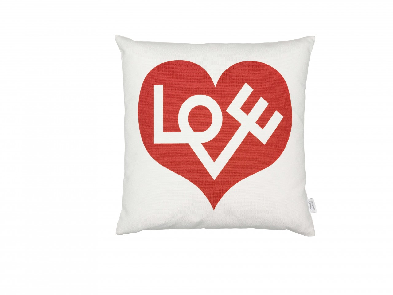 Graphic Print Pillows: Love