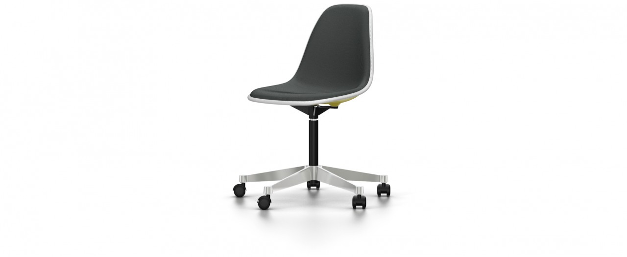 PSCC mit Vollpolster - Eames Plastic Side Chair