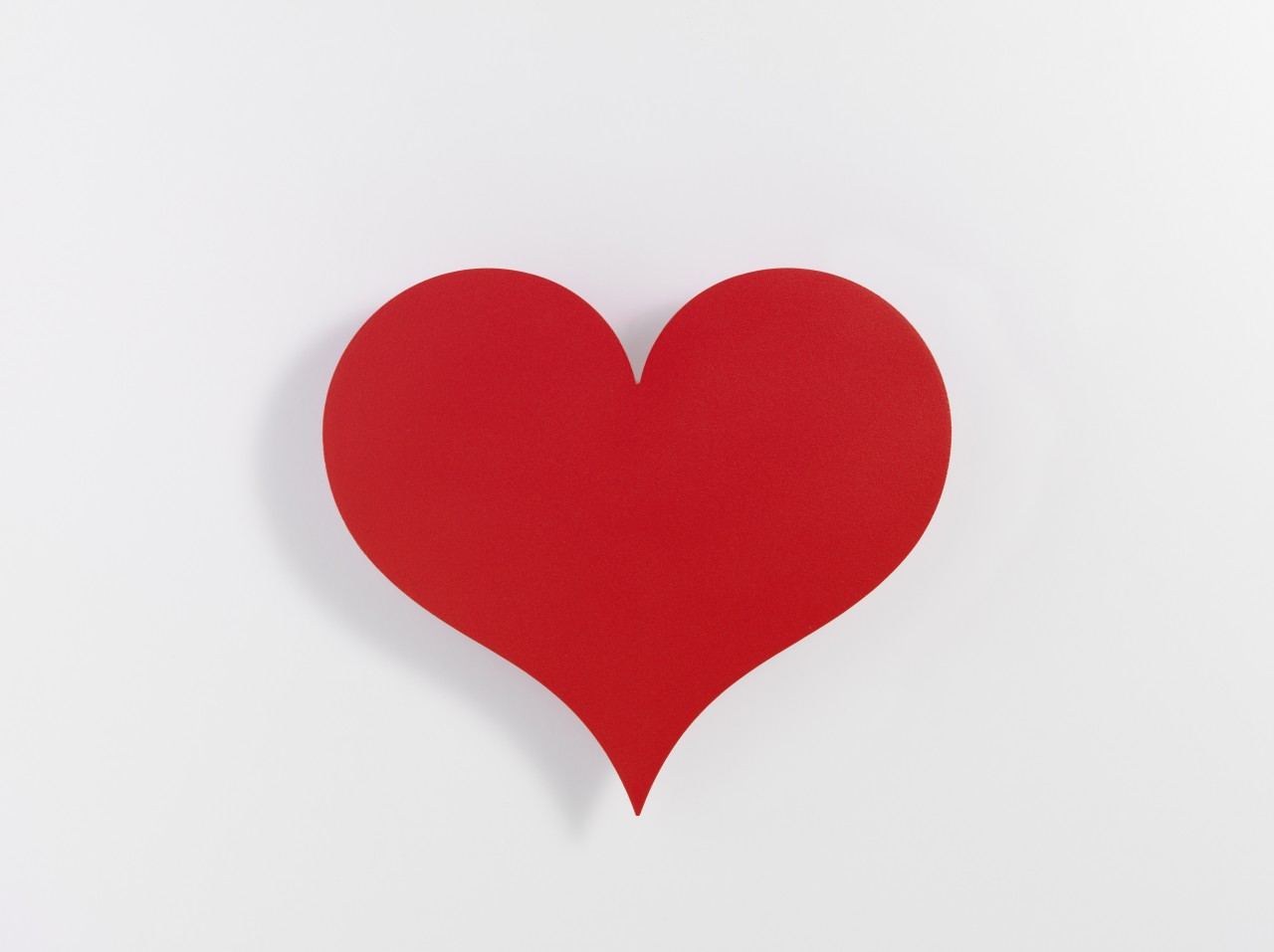 Vitra Metal Wall Relief little red heart