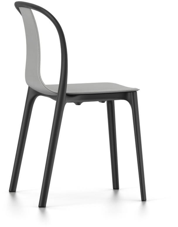 Outlet vitra Belleville chair outdoor schwarz/grau