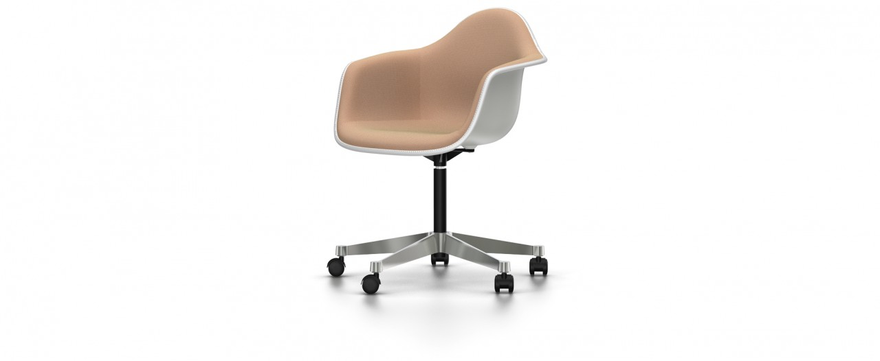 Vitra PACC mit Vollpolster - Eames Plastic Armchair