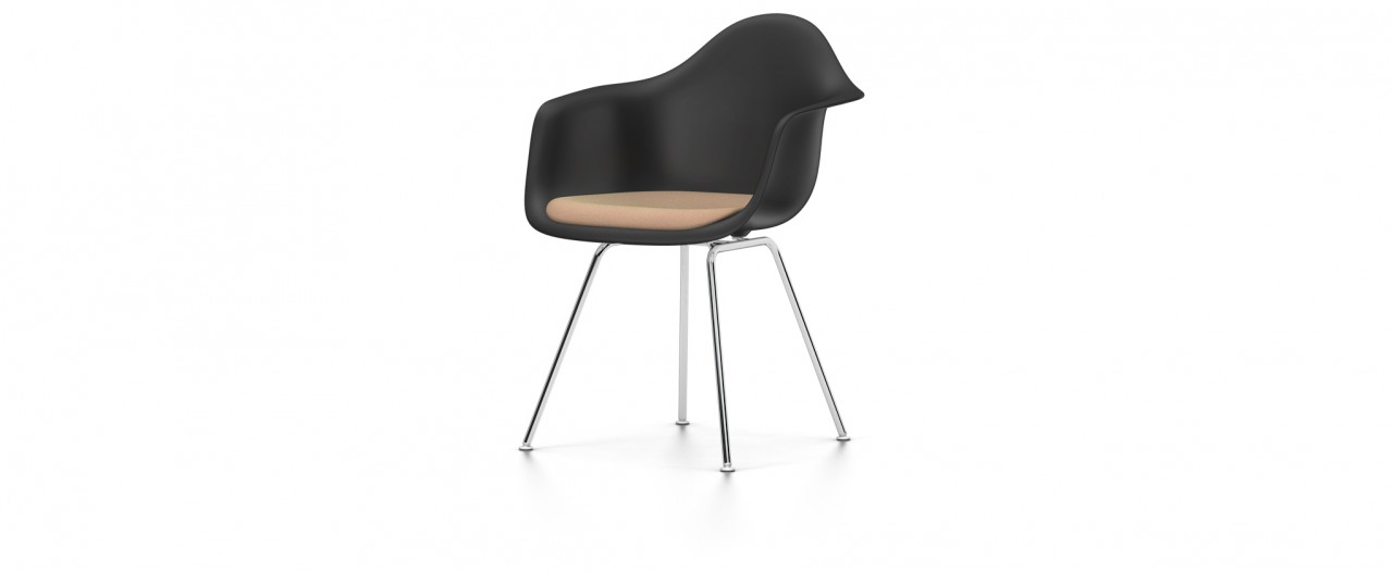 Vitra DAX mit Sitzpolster - Eames Plastic Chair