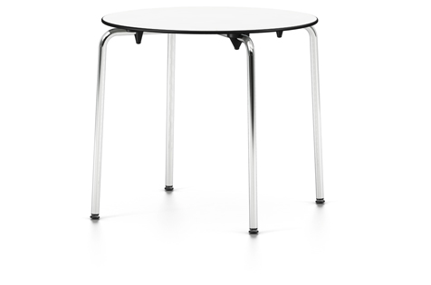 outlet vitra hal table rund wei outlet vitrapoint d sseldorf. Black Bedroom Furniture Sets. Home Design Ideas