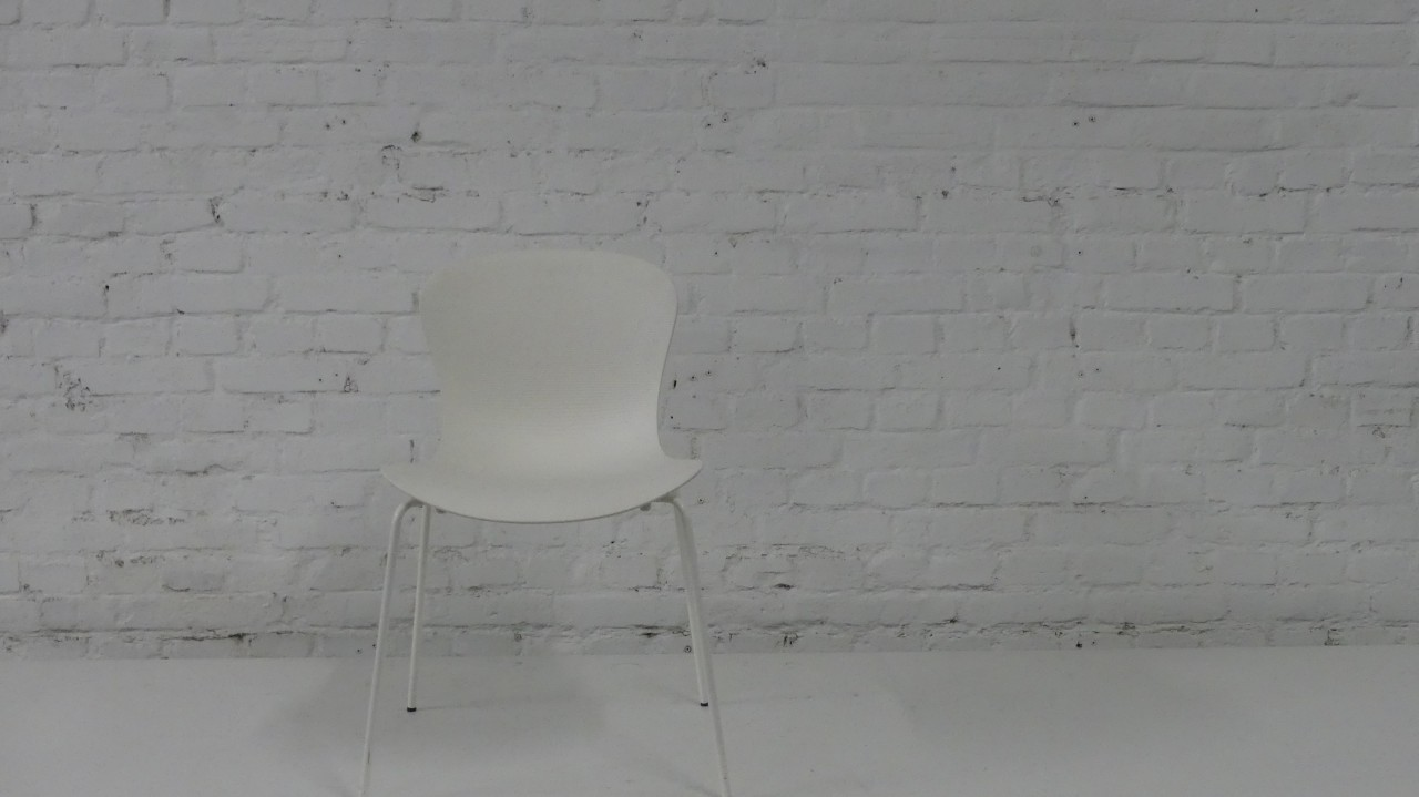 Outlet Fritz Hansen NAP chair weiß