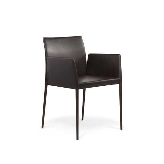 outlet walter knoll deen stuhl leder braun outlet vitrapoint d sseldorf. Black Bedroom Furniture Sets. Home Design Ideas