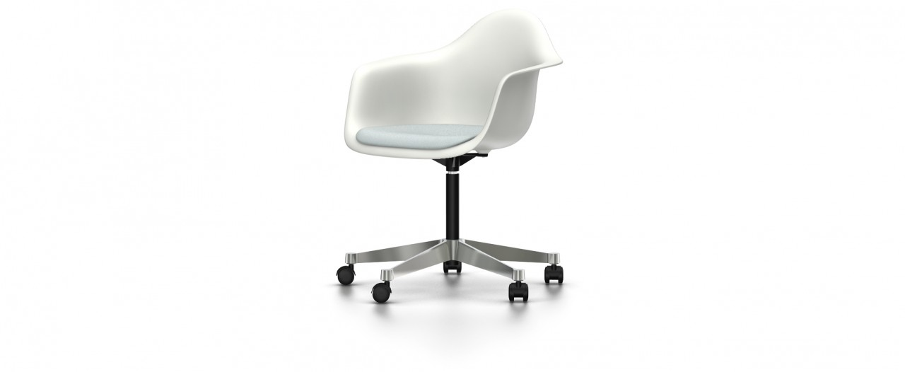 Vitra PACC mit Sitzpolster - Eames Plastic Armchair