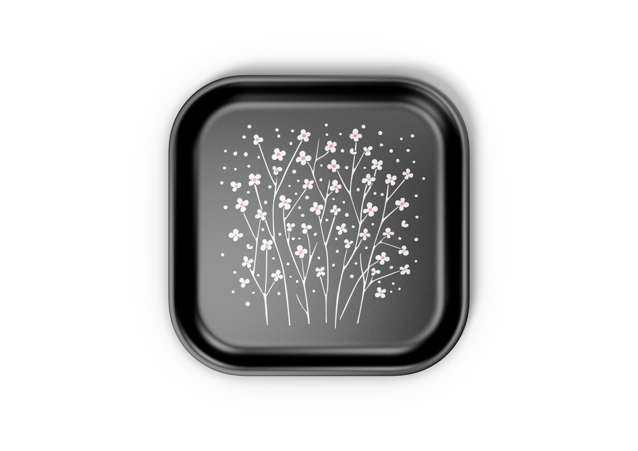 Classic Tray small: Baby's Breath