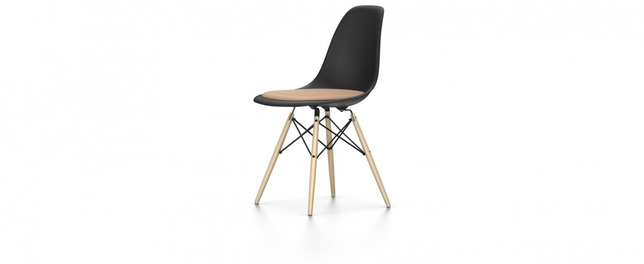 Vitra DSW mit Sitzpolster - Eames Plastic Chair