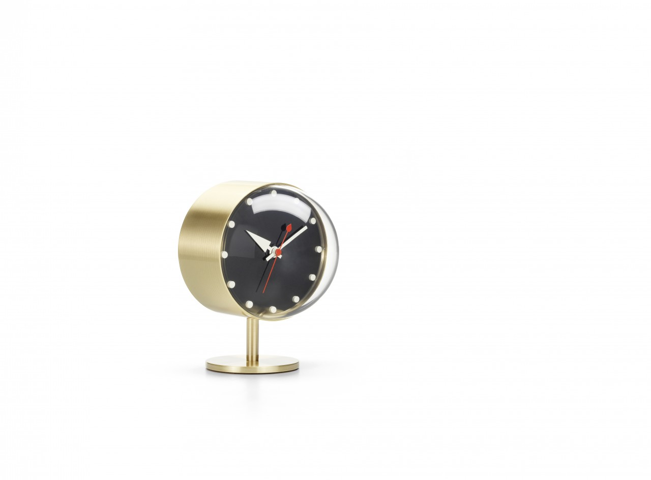 Vitra Nelson Night Clock, Messing